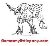 My Little Pony Princess Cadance Character