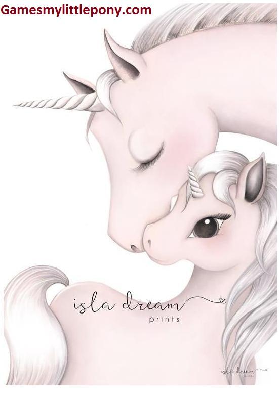 Unicorn Art Print For Kids Australia