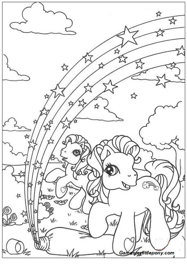 Little Pony  from My Little Pony Coloring Page