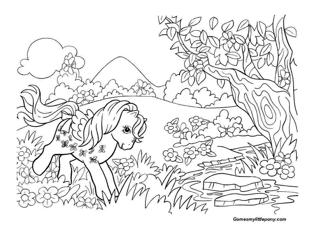 Pony In The Forest  from My Little Pony