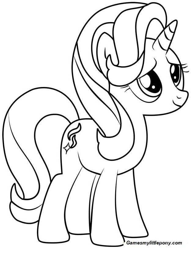 Mlp Coloring Starlight Glimmer Coloring Page