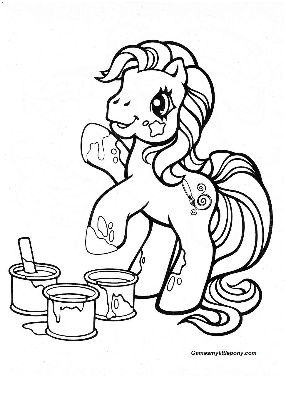 Mlp Toola Roola coloring Coloring Page