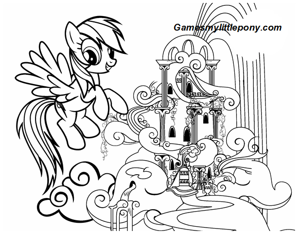 MLP Rainbow Dashs Palace
