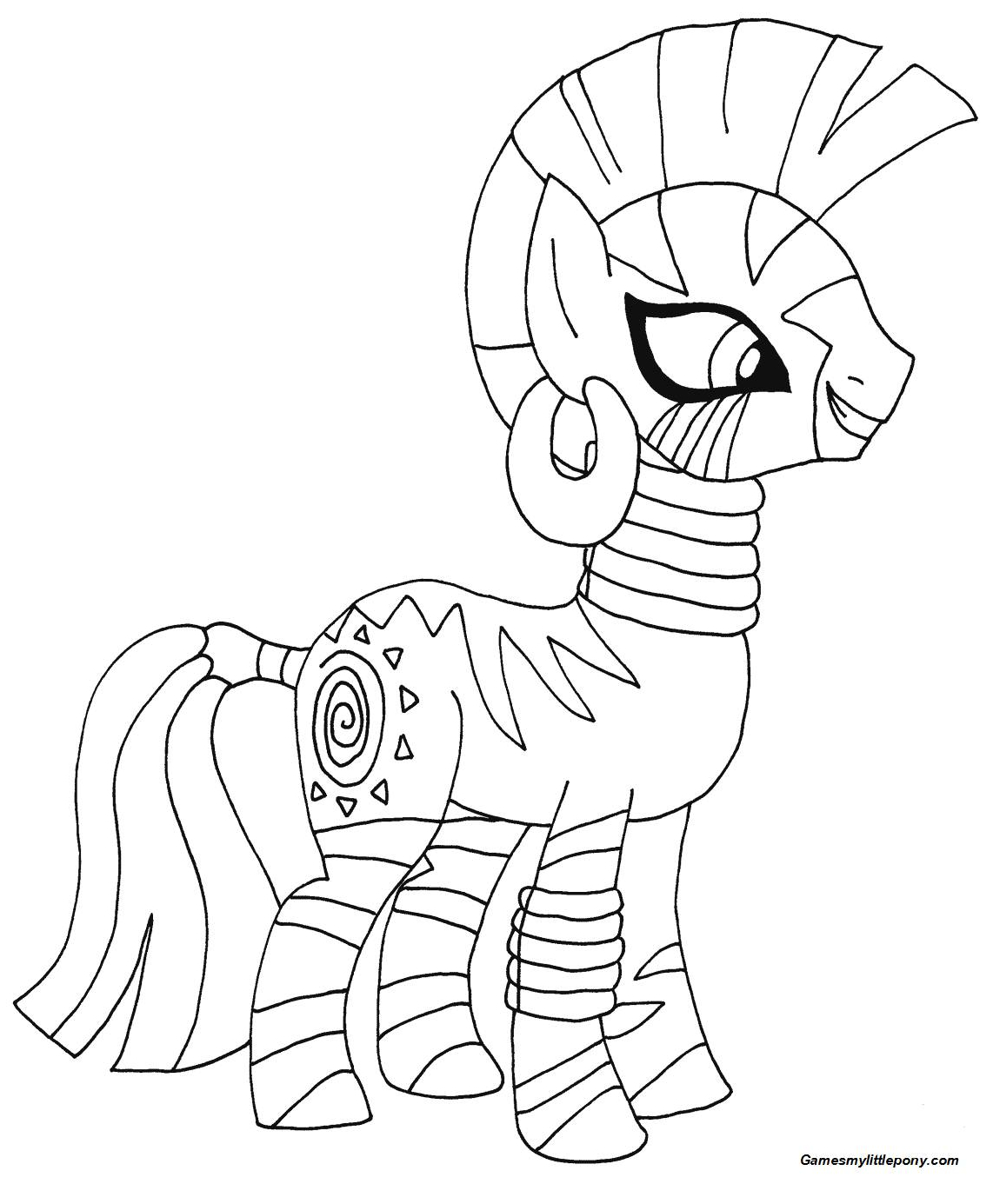 My Little Pony Zecora from My Little Pony
