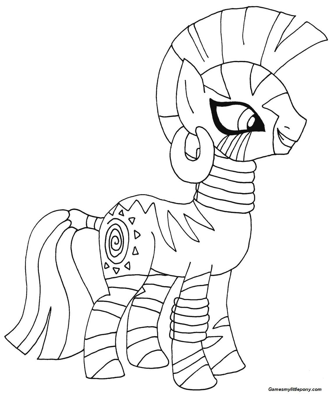 My Little Pony Zecora from My Little Pony