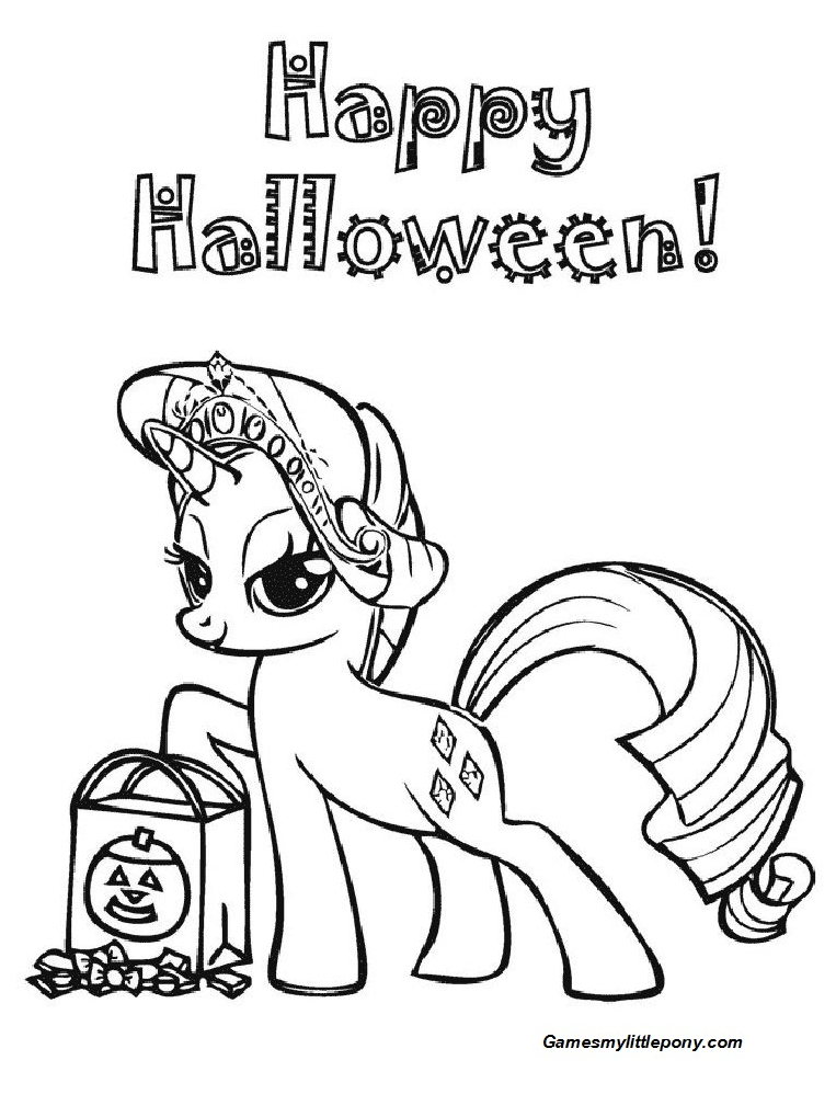 Ponys Hallowen Day