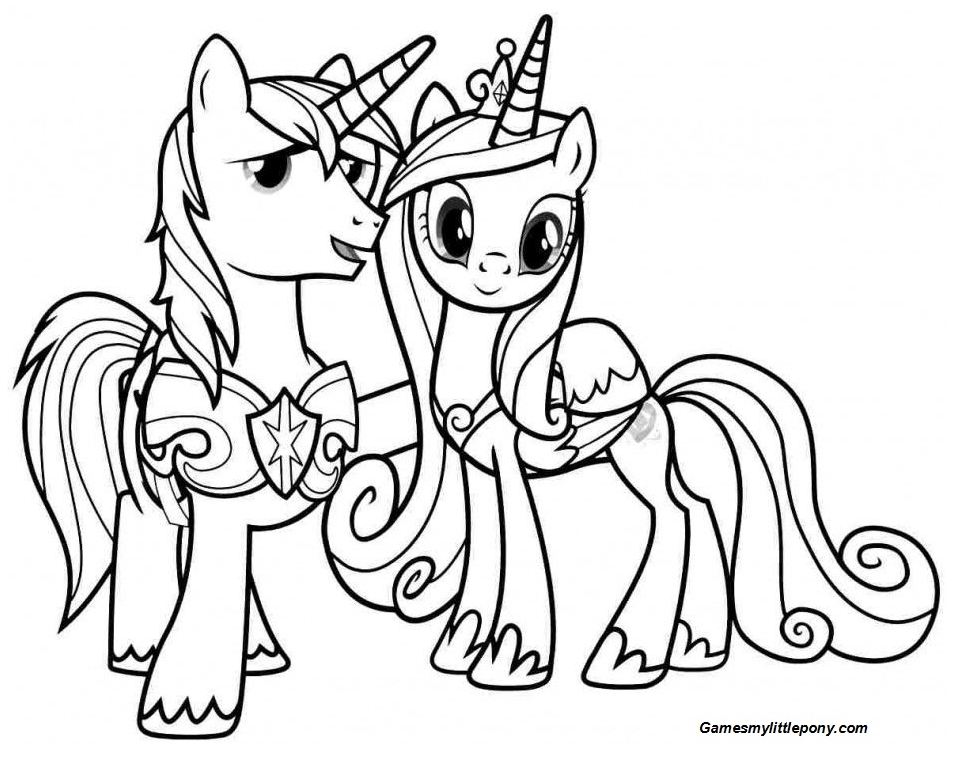 MLP Friendship on Halloween Coloring