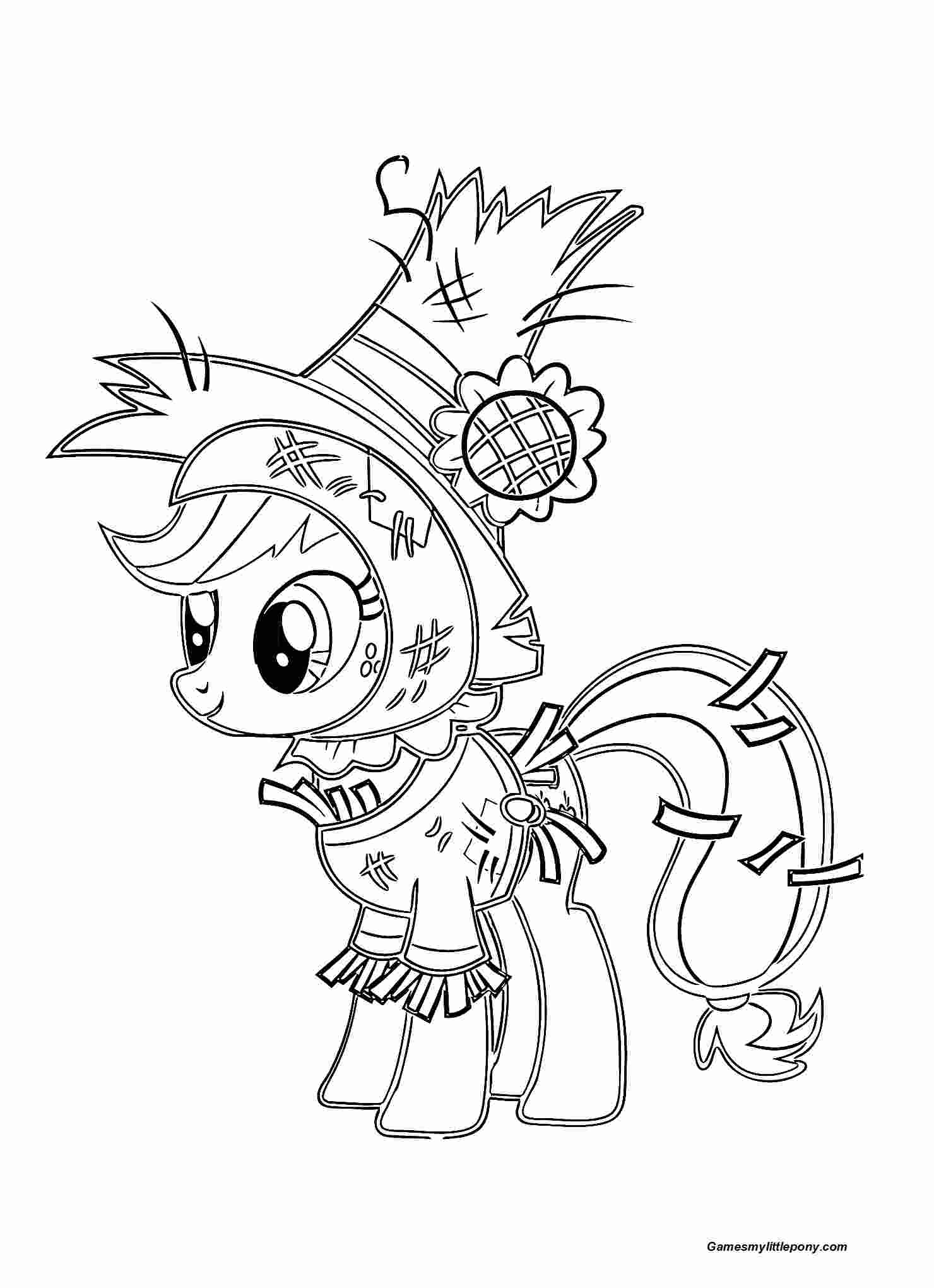 Funny Applejack Pony Halloween