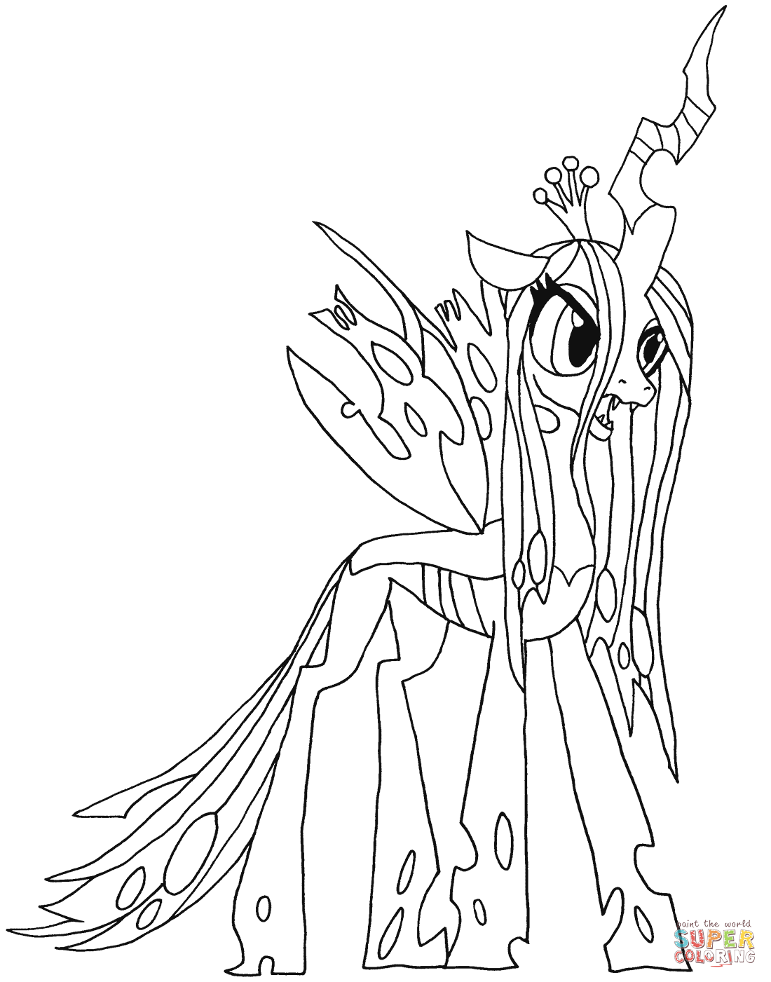 My Little Pony Princess Ausmalbilder : My Little Pony Coloring Pages Pony Coloring Pages Mlp Coloring Pages