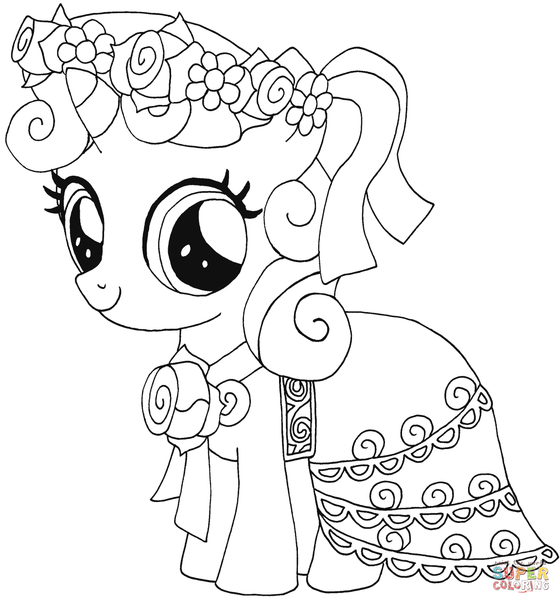My Little Pony Sweetie Belle From