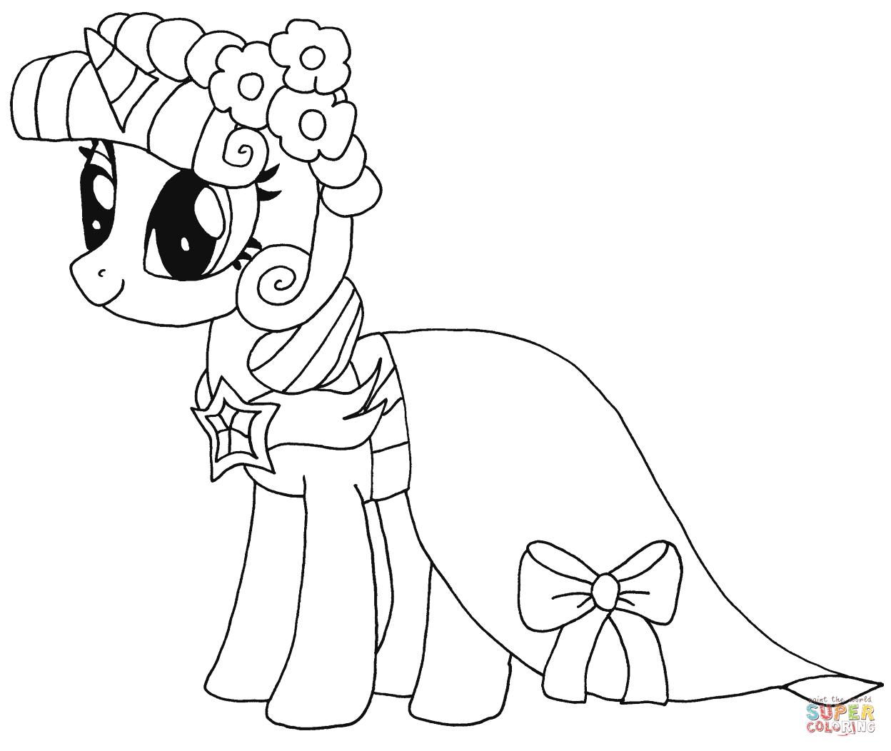 Princess Twilight Sparkle from My Little Pony