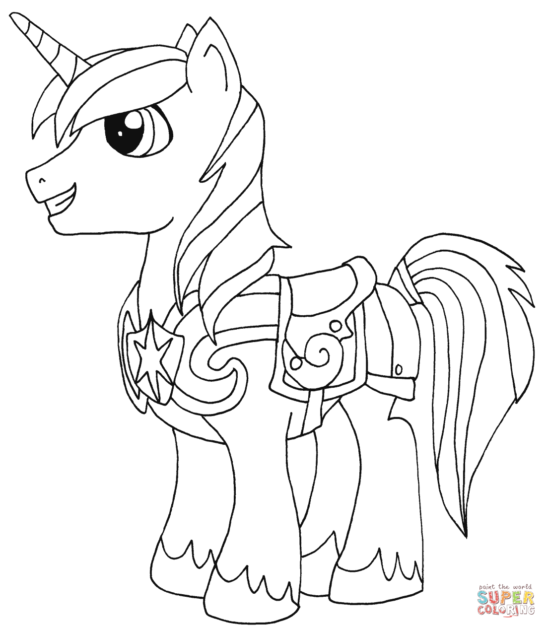 Princess Rarity from My Little Pony Coloring Page My Little Pony