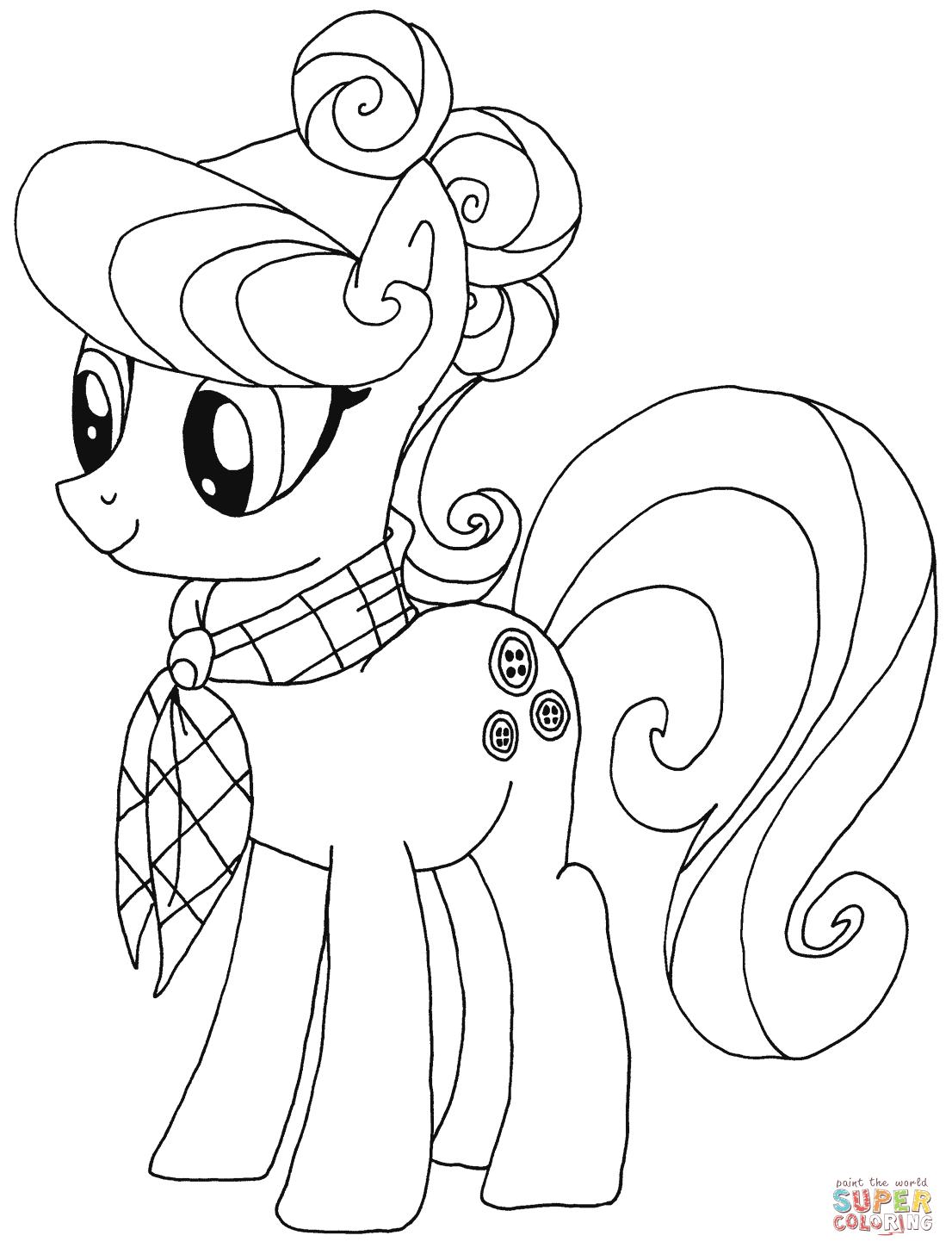 Suri Polomare from My Little Pony
