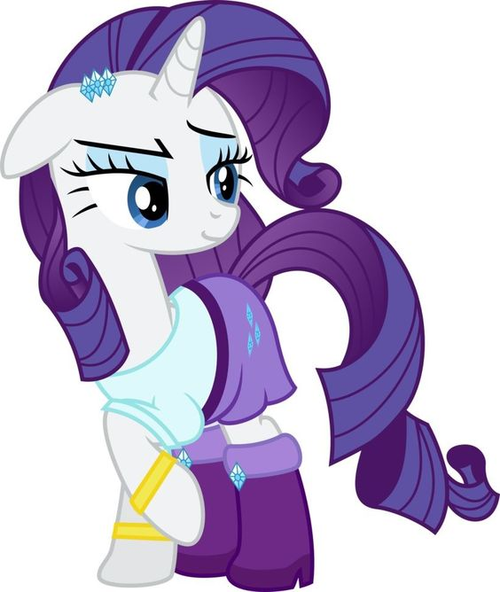 My Little Pony Rainbow Power Rarity Picture My Little
