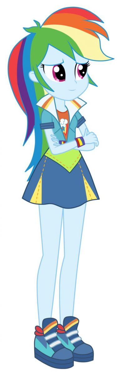 My Equestria Girl Rainbow Dash Picture My Little Pony