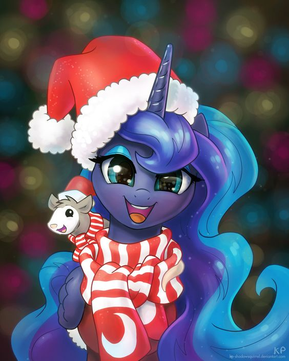 Mlp Christmas.My Little Pony Pictures Christmas Head Picture My Little