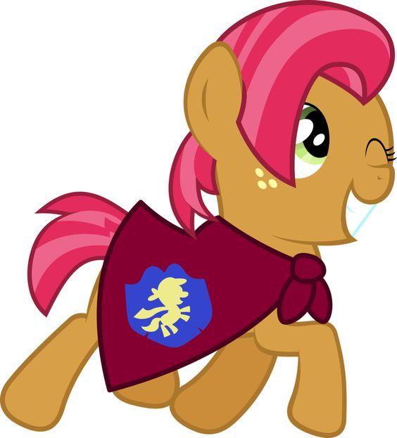 My Little Pony Apple Bloom Happy