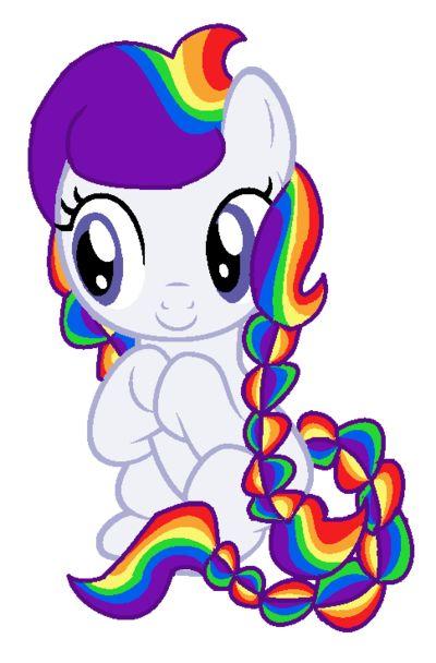 My Little Pony Baby Princess Rainbow
