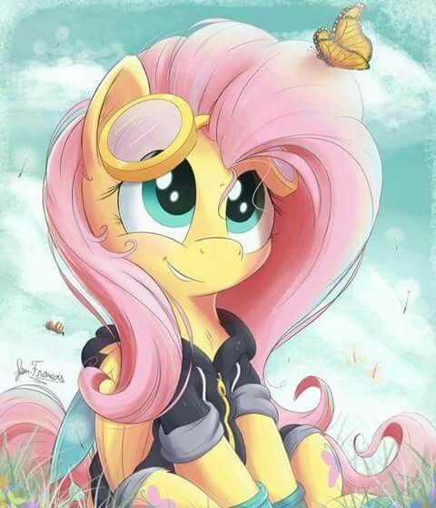 My Little Pony Fluttershy With Winter Outfits Picture My