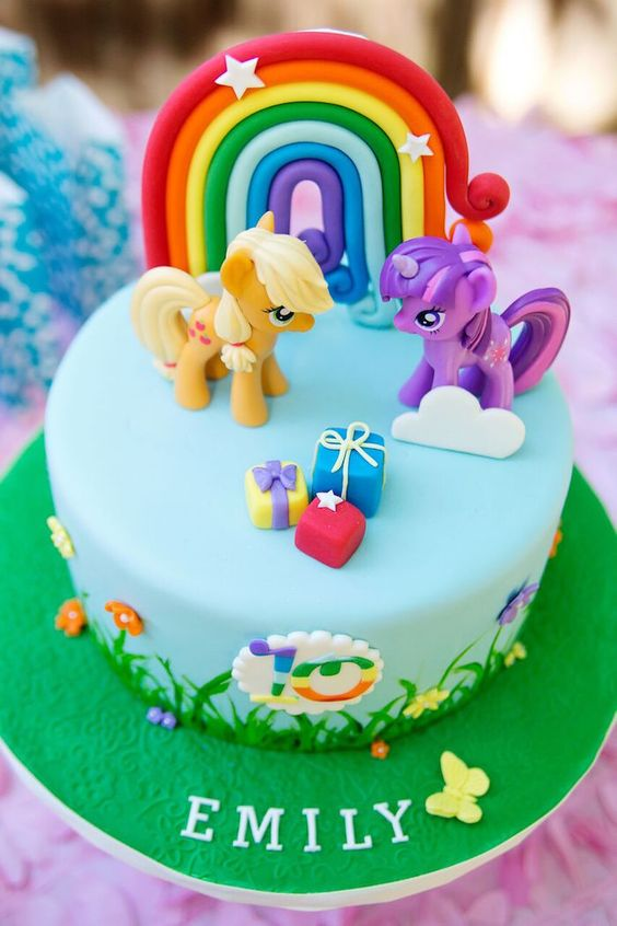 My Little Pony Birthday Cake Picture My Little Pony