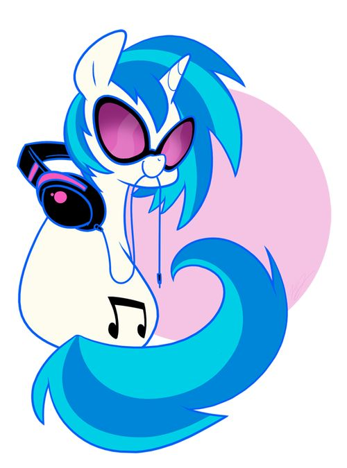 My Little Pony Crystal Vinyl Scratch Picture My Little