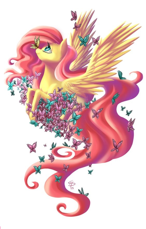 My Little Pony Fluttershy Fly Picture