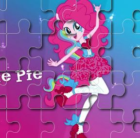 Pinkie Pie Puzzle Game