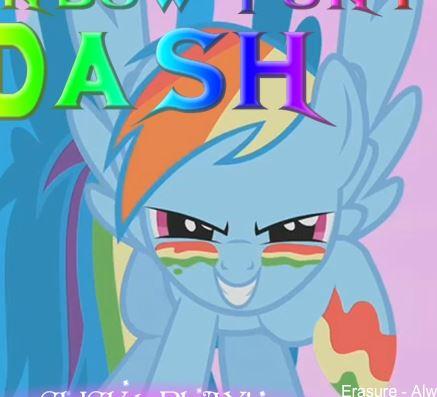 Rainbow Dash Adventure Game
