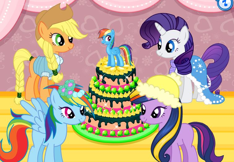 My Little Pony's Birthday Party Game