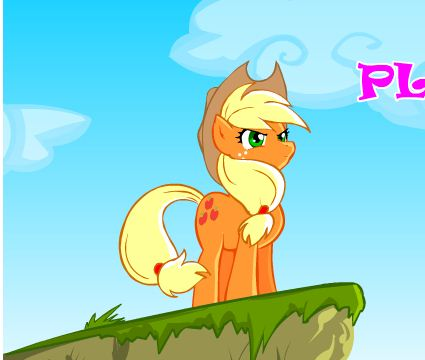 Pony Platforming Project Game