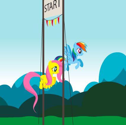 My Little Pony Travel Game