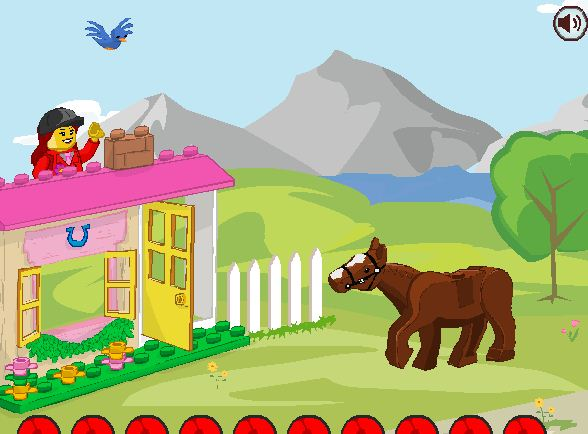 Lego Junior Easy To Build Pony Game