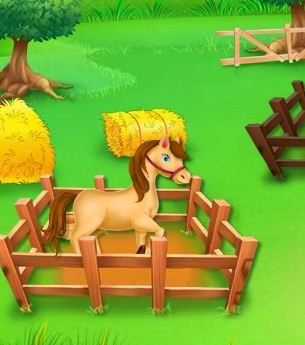Animals Farm Cleaning Game