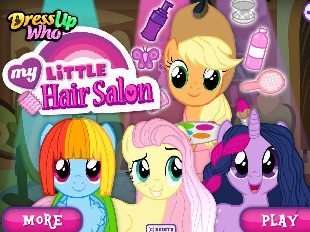 My Little Pony Hair Salon 2 Game