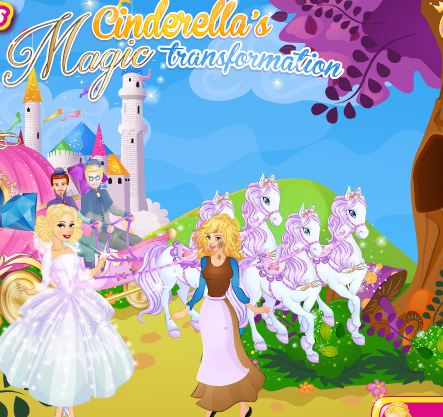 Cinderellas Magic Transformation Game