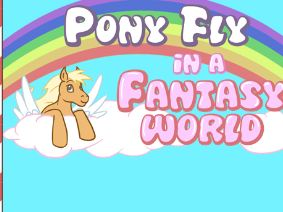 My Little Pony Fly In A Fantasy World Game