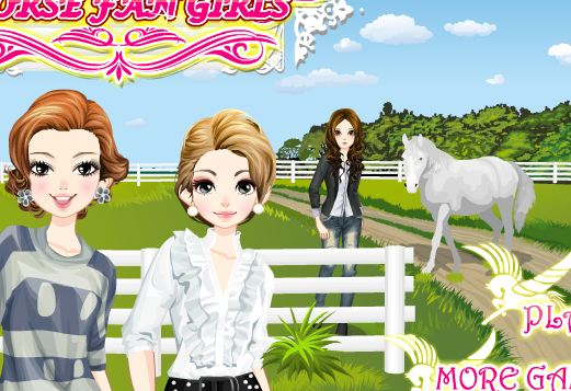 Horse Fan Girls Game