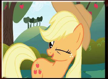 My Little Pony Apple Jack Winks Game