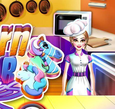 Unicorn Sugar Cookies Game