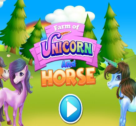 Farm Of Unicorn And Horse Game