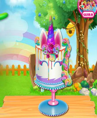 Unicorn Cake Cooking Game