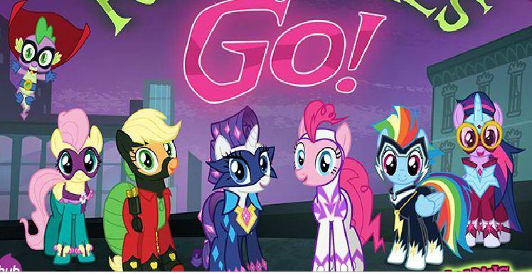 Power Ponies Go Game
