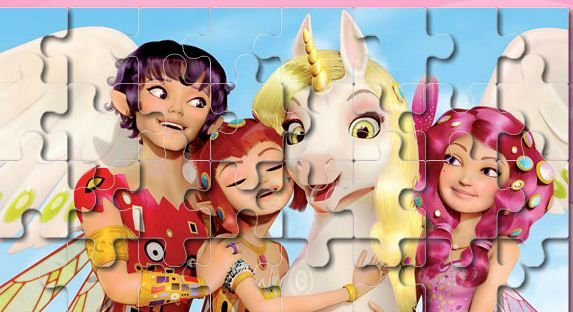 Mia And Friends Jigsaw Game