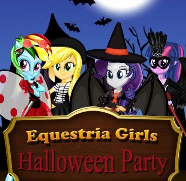 My Equestria Girls Halloween Party Game