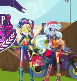 Motocross Friendship Game Game