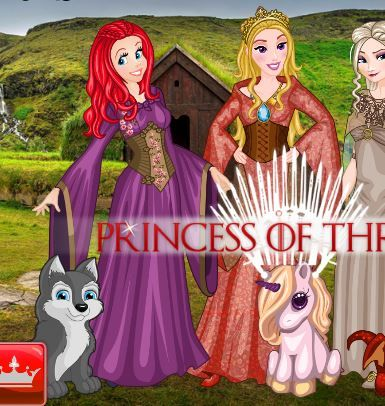 Princess Horse Of Thrones Game