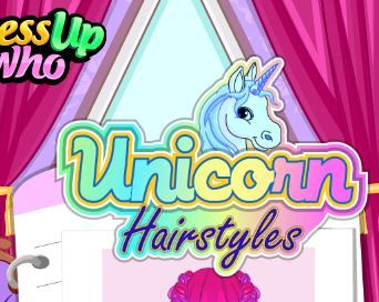 Unicorn Hairstyles Game