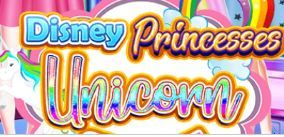 Disney Princesses Unicorn Style Game