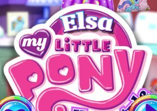 Elsa My Little Pony Hairstyle Fashion Game