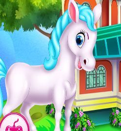 Pony House Cleaning And Decoration Game